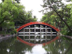 住吉大社反橋